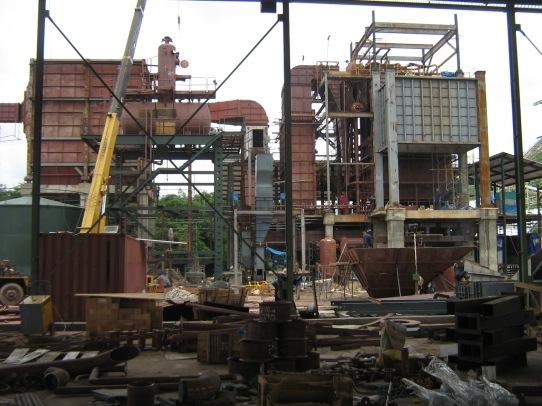 pemasangan refractory boiler power plant